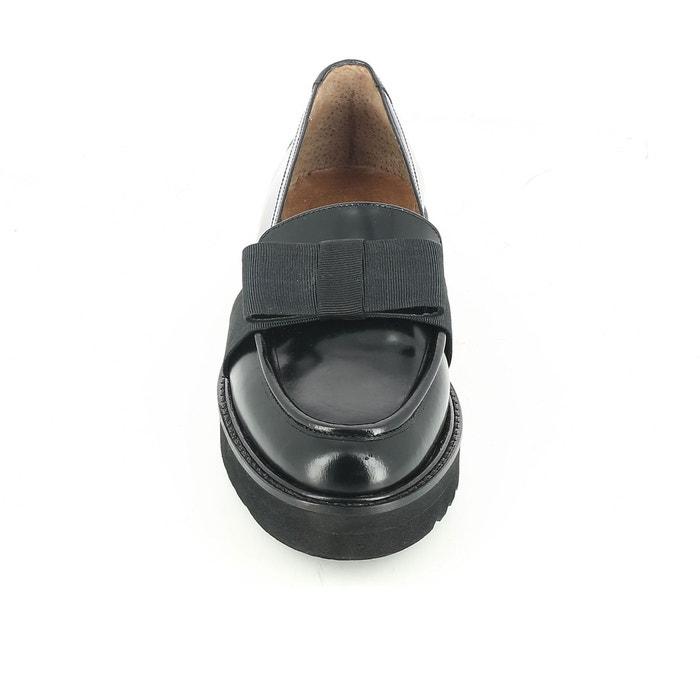 Mocassins cuir denly noir Jonak