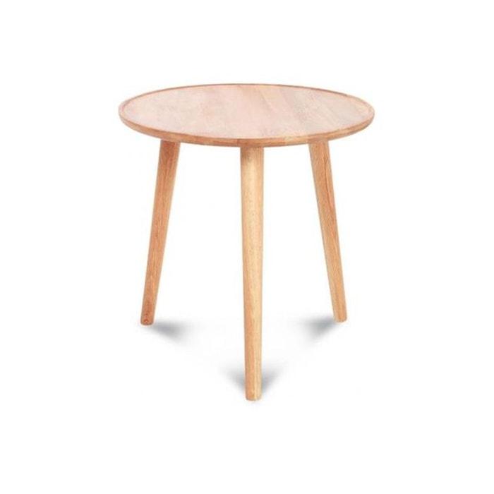 table basse en bois scandinave brios beige declikdeco la. Black Bedroom Furniture Sets. Home Design Ideas