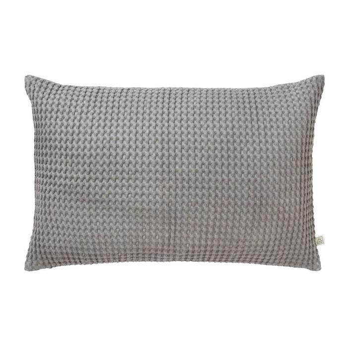 Housse de coussin tresa 40x60 cm gris fonce grey dutch for Housse de coussin gris