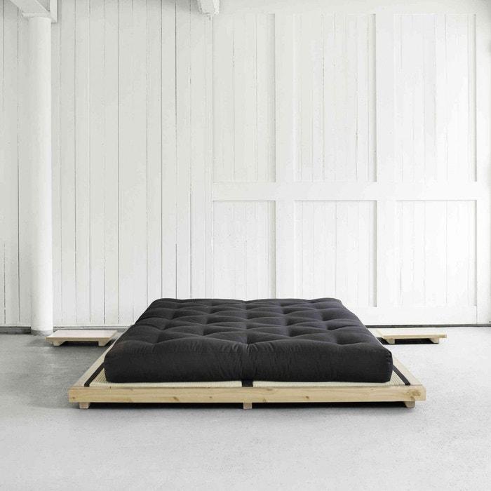 lit futon style japonais matelas futon coton traditionnel. Black Bedroom Furniture Sets. Home Design Ideas