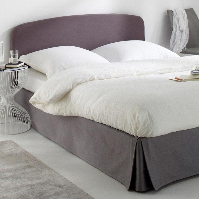 Image Housse pour tête de lit pur coton, forme galbée SCENARIO