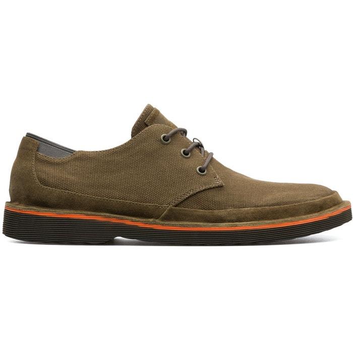 Camper Morrys  K100088-004 vert - Chaussures Derbies Homme