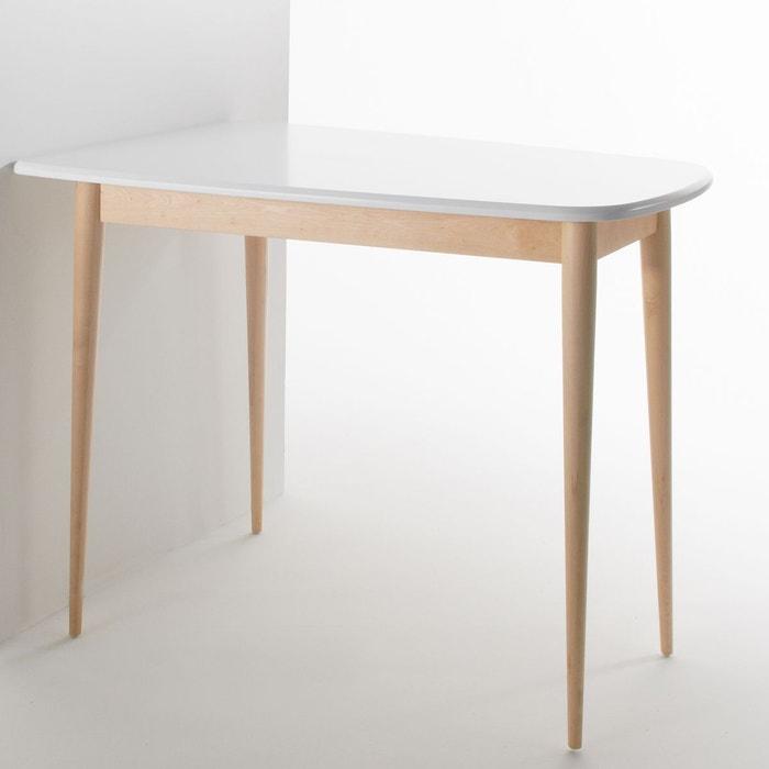 Table haute de cuisine avec rangement table haute de for Table bar de cuisine avec rangement