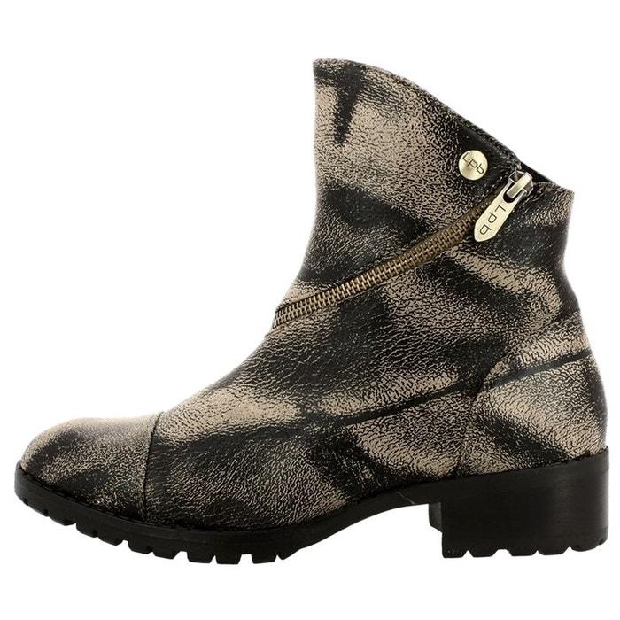 Shoes Cuir Redoute La Boots Lpb Marron Bottines q6Iwpa