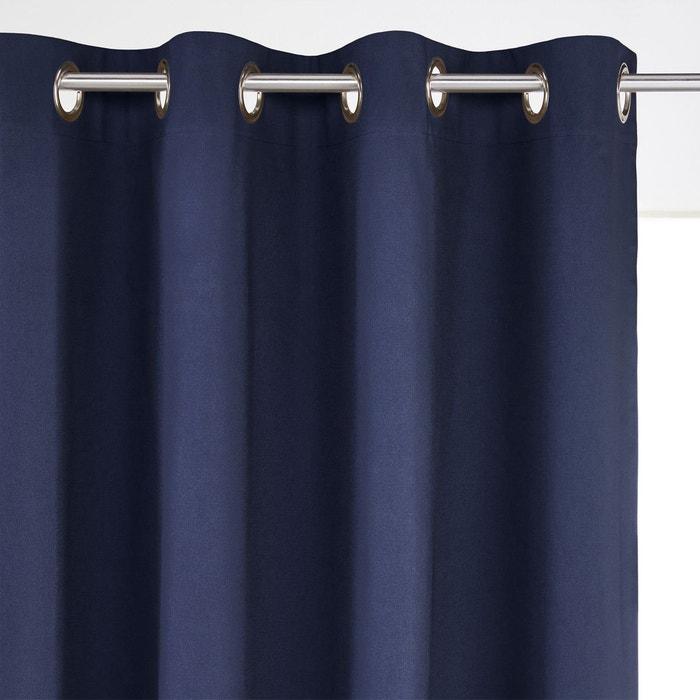 rideau occultant pur coton oeillets scenario la redoute. Black Bedroom Furniture Sets. Home Design Ideas