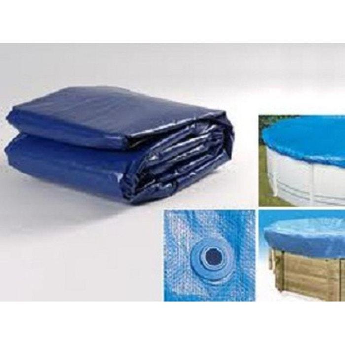 B che hiver pour piscine allong e 462x312x115cm couleur unique lekingstore la redoute for Piscine la redoute