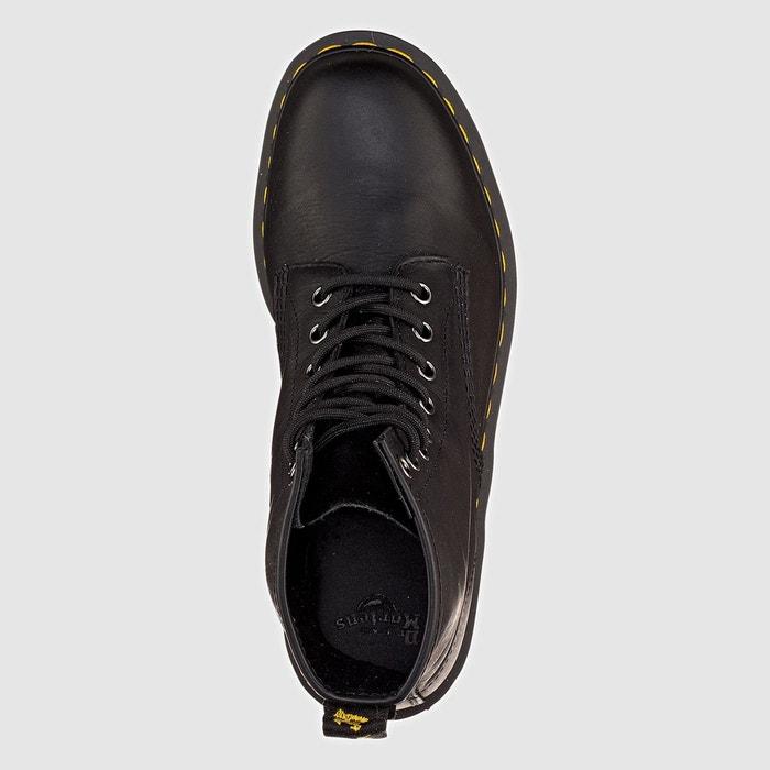 Boots cuir à lacets eye boot noir Dr Martens