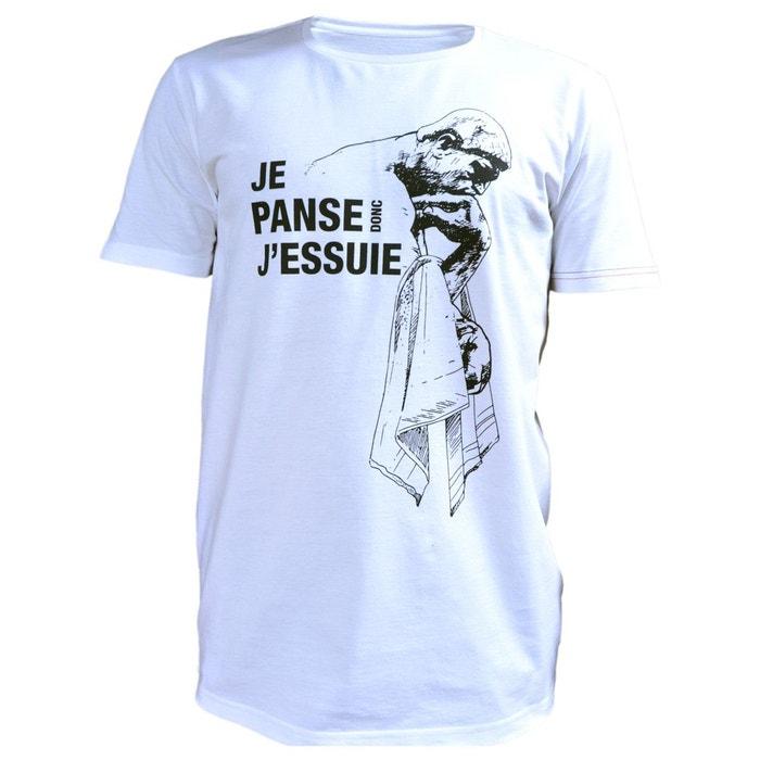 T-Shirt homme style imprimé panseur PHILEMON