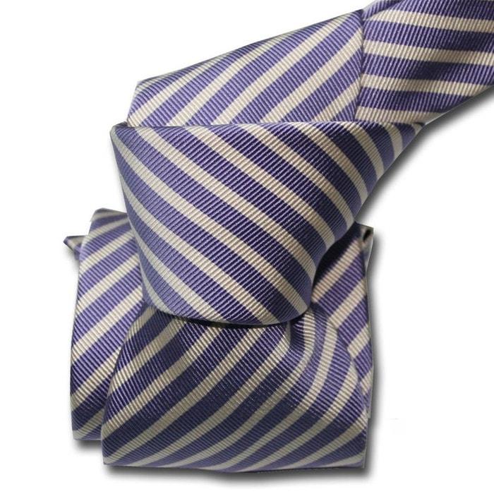 Cravate classique segni disegni, mogador, brescia, mauve violet Segni Et Disegni | La Redoute