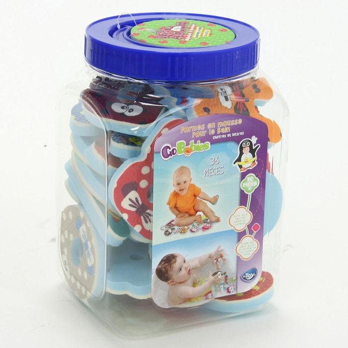 36 jouets en mousse pour le bain multicolore go baby go for Piscine a boule en mousse