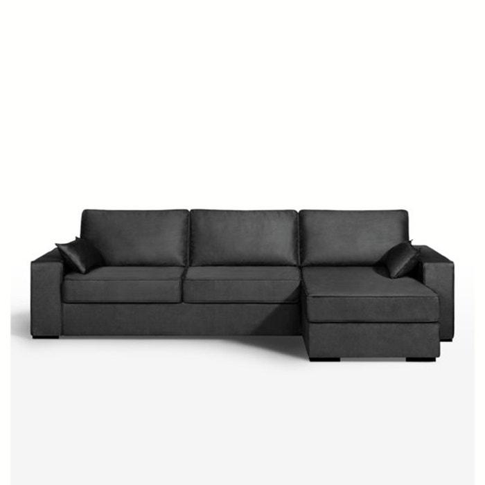 Image Canapé d'angle lit, couchage express, microfibre, Cécilia La Redoute Interieurs