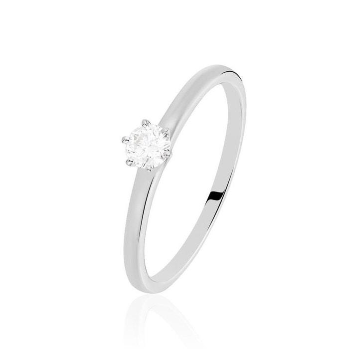 Sast Vente En Ligne Solitaire or blanc natalia diamant blanc Histoire D'or | La Redoute Nouvelle Remise Pas Cher En France UDLkK