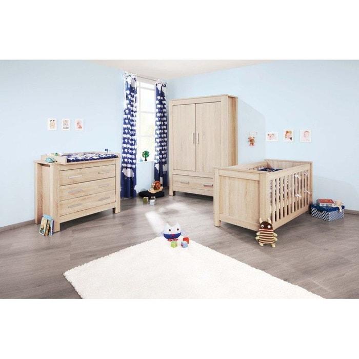 chambre b b carus ch ne lit volutif commode armoire pinolino couleur unique pinolino la. Black Bedroom Furniture Sets. Home Design Ideas