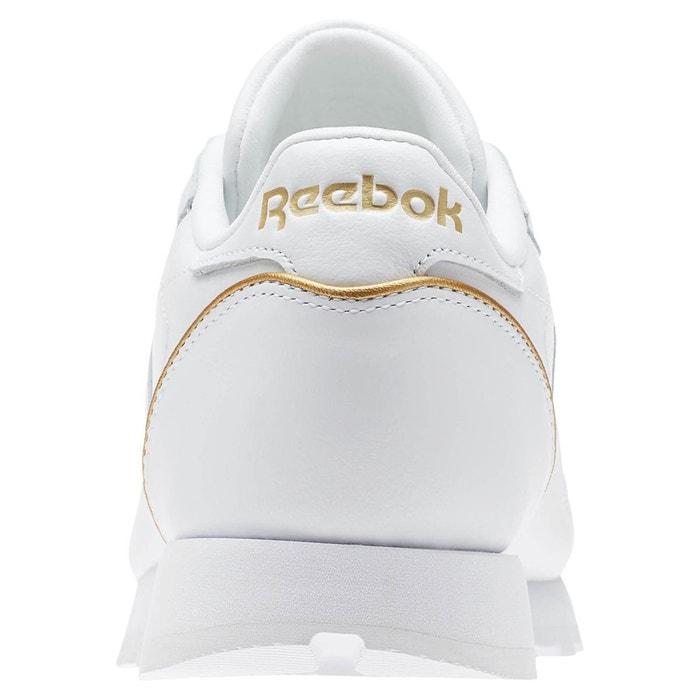 Reebok Classics Classic Leather HW - Baskets en cuir - blanc vCNzZHT0