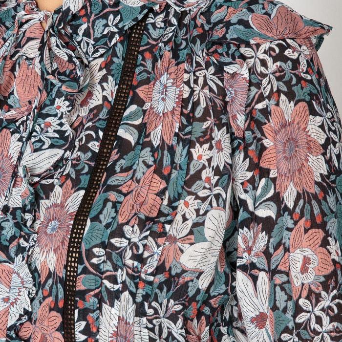 Robe patineuse manches longues alena imprimé fleurs Berenice   La Redoute 8b7a0142db9b