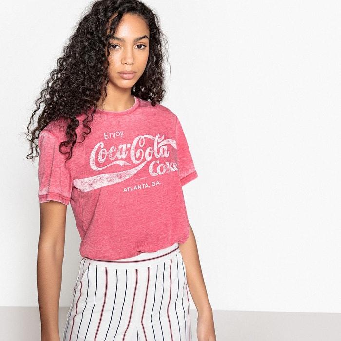 Tee shirt  col rond imprimé, manches courtes  COCA COLA image 0