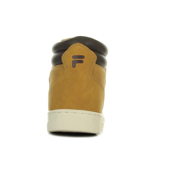 Baskets homme wildwood mid chipmunk marron/camel Fila