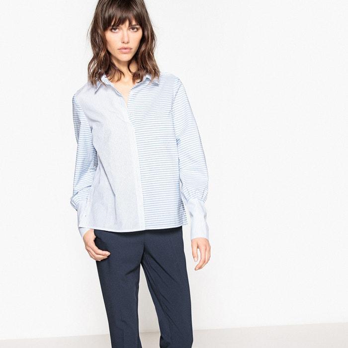 Gestreifte Bluse mit langen Ärmelabschlüssen  La Redoute Collections image 0
