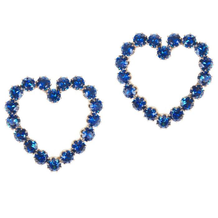 Boucles d'oreilles lottie bleues couleur unique Reine Rosalie | La Redoute Meilleur Achat Livraison Gratuite Pas Cher Vente Style De Mode Pas Cher Prix De Gros Rabais HrElYdp