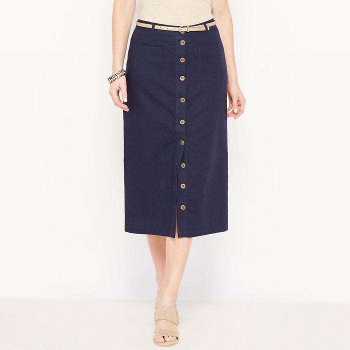 Linen Maxi Skirt  ANNE WEYBURN image 0