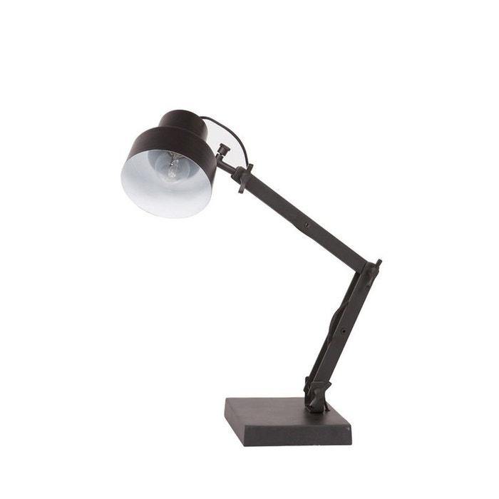 lampe d 39 architecte style industriel beam noir drawer la redoute. Black Bedroom Furniture Sets. Home Design Ideas