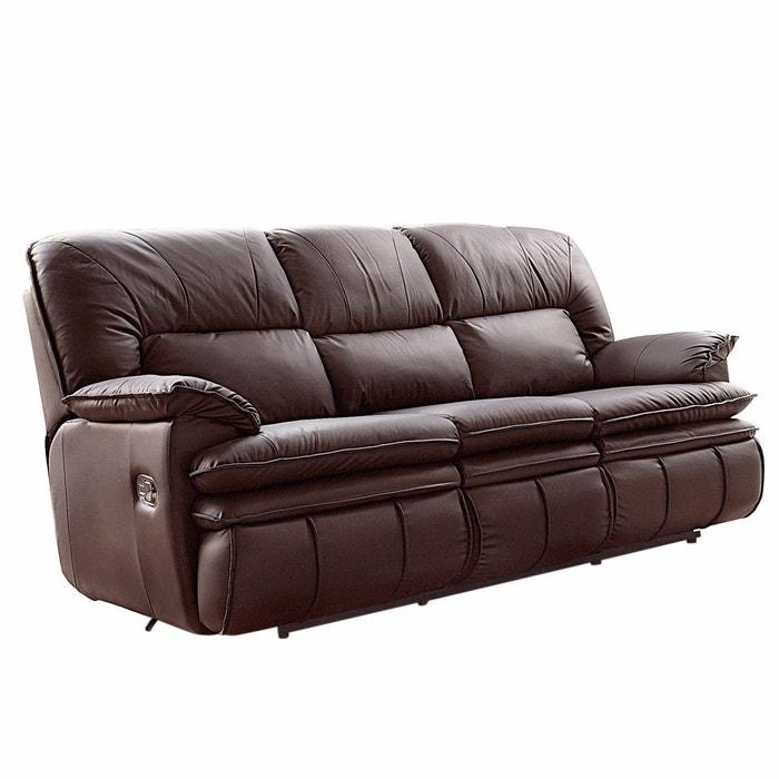 Sof de relaxamento pele 2 vers es matei la redoute for La redoute fundas sofa