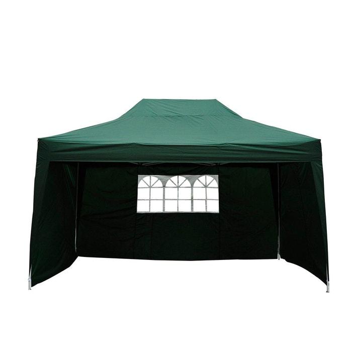 tonnelle barnum 3 x 4 5 m vert sac de transport vert outsunny la redoute. Black Bedroom Furniture Sets. Home Design Ideas