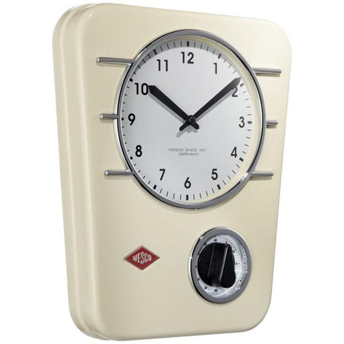 Wesco Classic Line Horloge De Cuisine Beige Wesco La Redoute