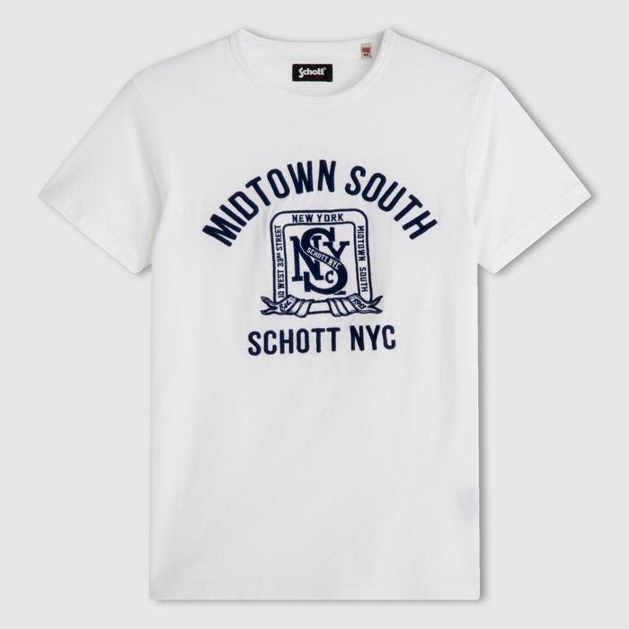 T-shirt de mangas curtas SCHOTT