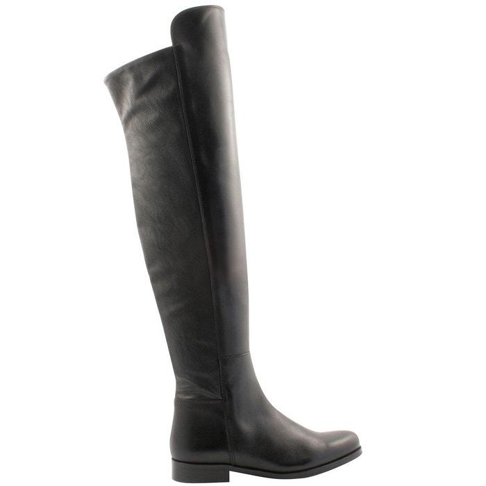 Exclusif Paris Axelle - Bottes en cuir - noir