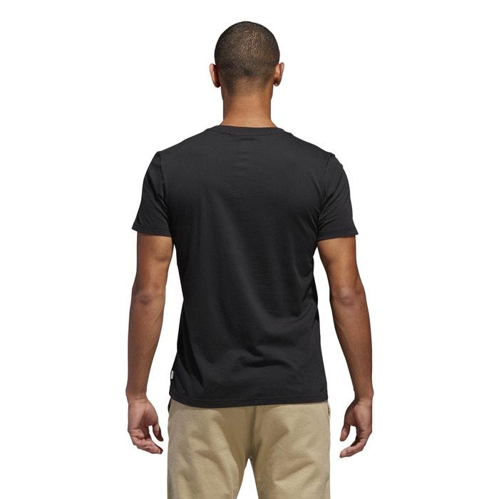 corta cuello delante redondo Camiseta manga de Adidas con estampado y originals pnxRvZwq1