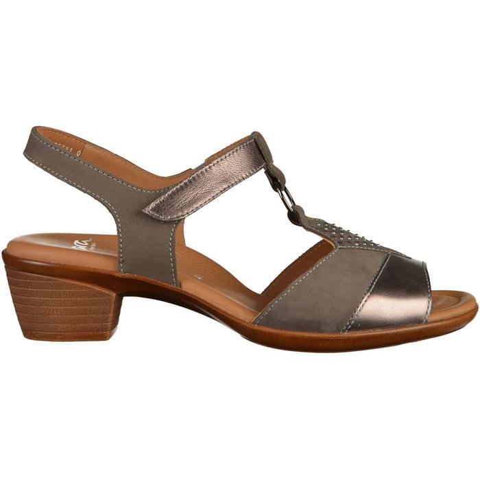De Nombreux Types De Vente Acheter Pas Cher Grande Vente Sandales gris Ara Amazone Discount 7exCo4Xw