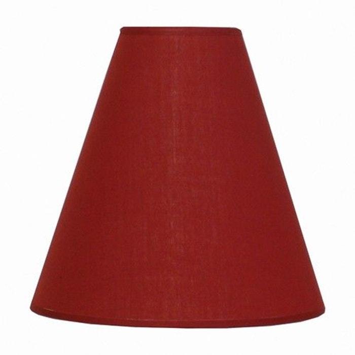 abat jour rouge 60 w a la carte kcm002692 kcm002692 rouge keria la redoute. Black Bedroom Furniture Sets. Home Design Ideas