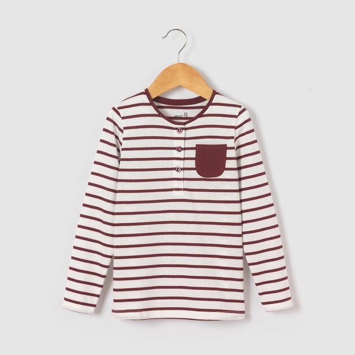Imagen de Camiseta a rayas manga larga 3-12 años abcd'R