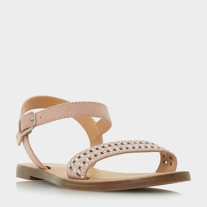 Sandales plates ornées à découpes - lira  Head Over Heels By Dune  La Redoute