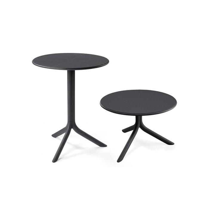 Table Ronde Jardin Terrasse Convertible Spritz Diam 60 H 40 76