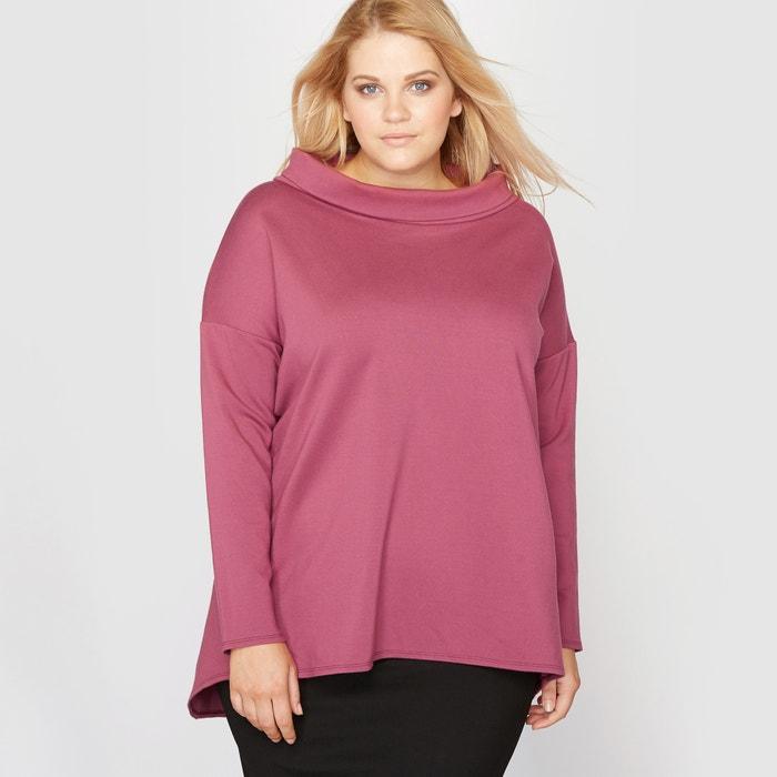 Image Top w formie rozszerzonej bluzy z długim rękawem CASTALUNA