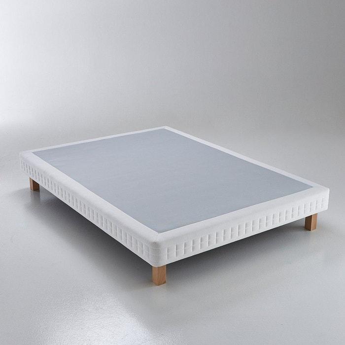 sommier tapissier ressorts ensach s sensoft bords blanc simmons la redoute. Black Bedroom Furniture Sets. Home Design Ideas