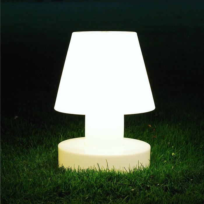 Lampe Portable 40 Cm Sans Fil Blanc Bloom La Redoute