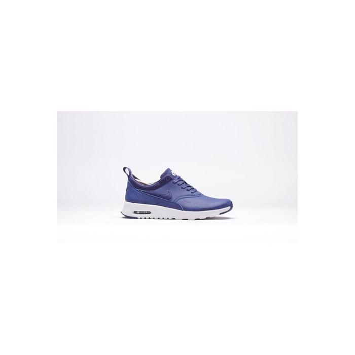 Basket air max thea premium bleu Nike