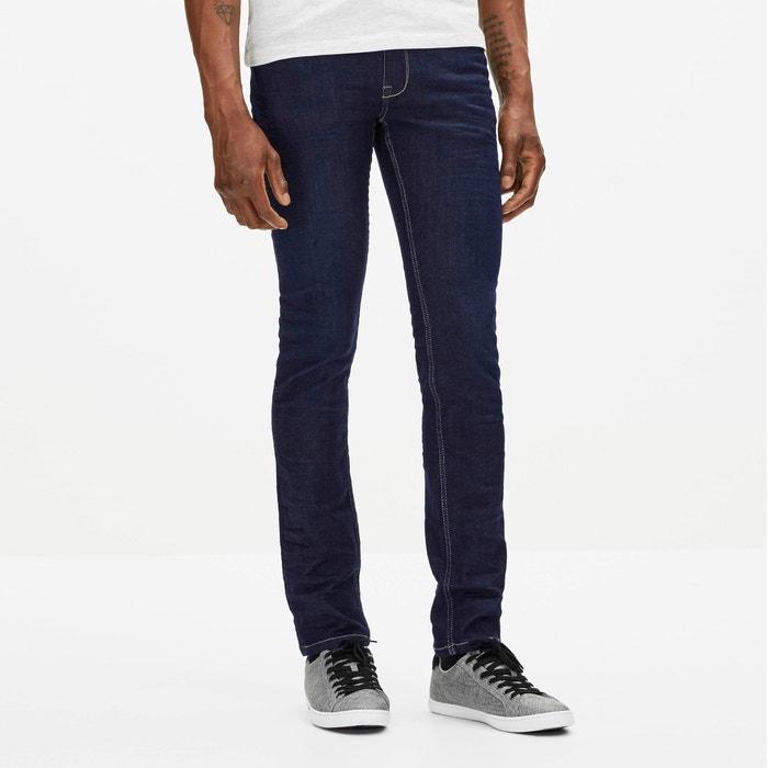 Afowut Powerflex® Stretch Denim Slim-Fit Jeans in Indigo, Length 34