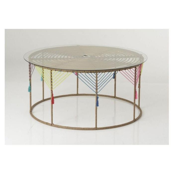 table basse ronde kahlo bois clair hellin depuis 1862 la redoute. Black Bedroom Furniture Sets. Home Design Ideas