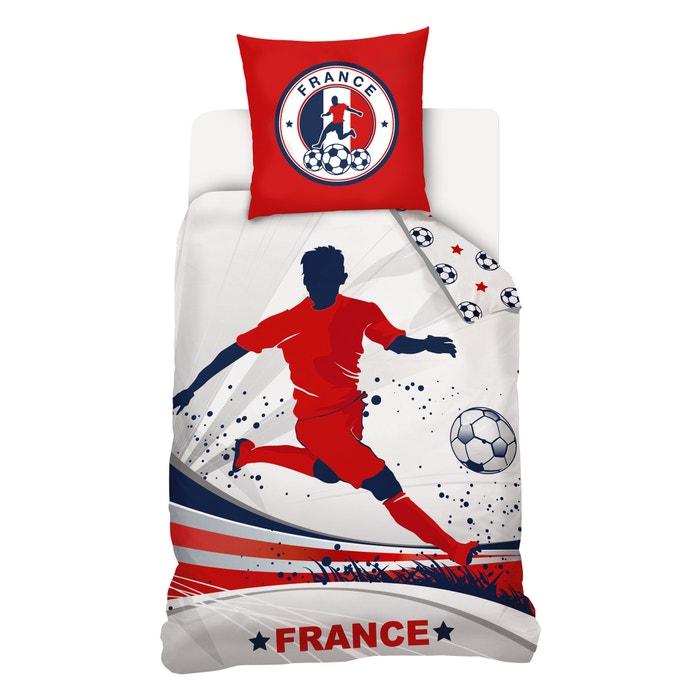 """Bild Set aus Bettbezug und Kissenbezug """"Foot France"""" für Kinder La Redoute Interieurs"""