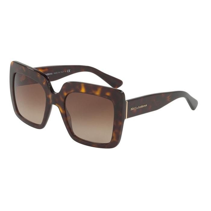 Paiement De Visa De Sortie Livraison Rapide En Ligne Lunettes de soleil dg4310 marron glacé Dolce Gabbana | La Redoute Vente Pas Cher Grand 7Bv0sKHQql