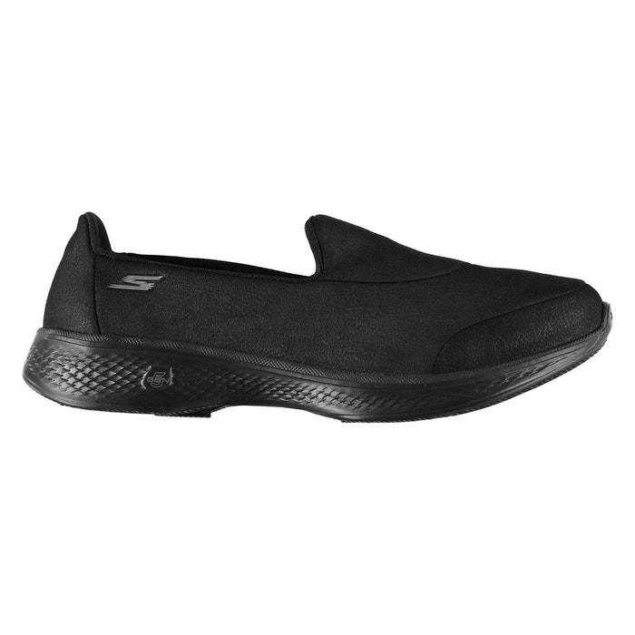 Chaussures de sport à enfiler noir Skechers