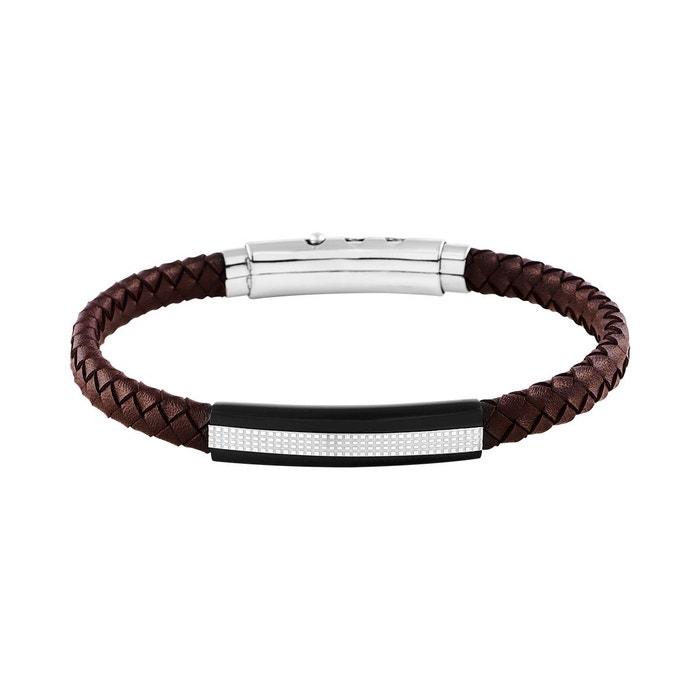 bracelet cuir homme cleor