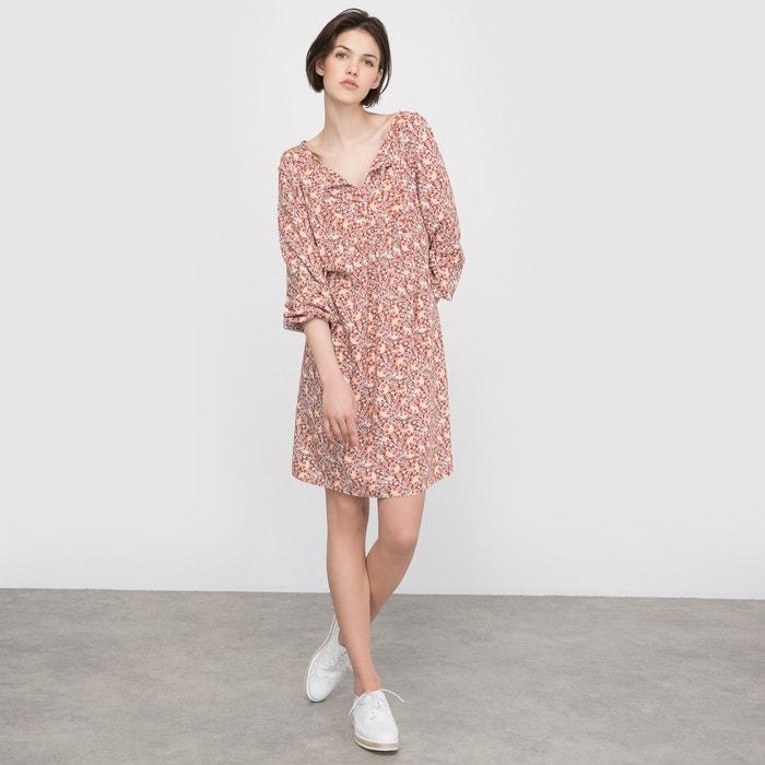 Image Bedrukte jurk met lange mouwen R édition
