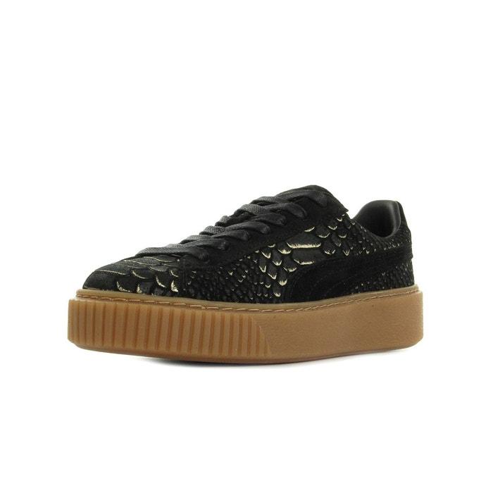 Puma Platform Chaussures Neuf Cuir Loisirs De 38 Taille