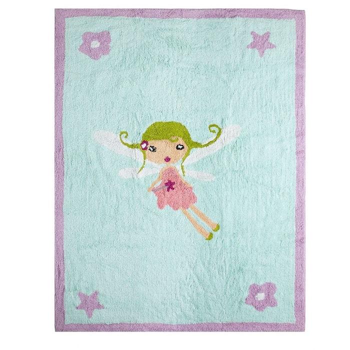 Tapis enfant coton f e magique bleu ciel lilipouce la redoute - Tapis enfant la redoute ...
