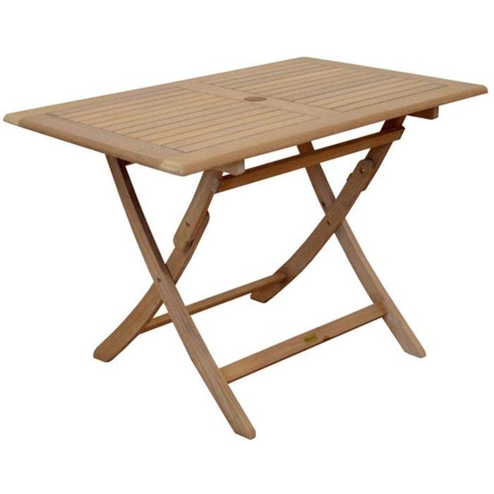table de jardin ronde en cali 80cm rendez vous deco image 0 - Table De Jardin Ronde